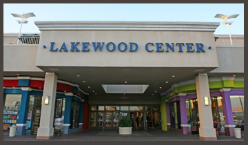 Entryway of Lakewood Center